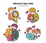 幸福情人节情侣