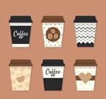 外卖咖啡矢量