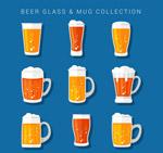 新鲜杯装啤酒