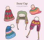 彩绘冬季帽子