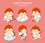 红棕色头发丘比特