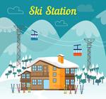 冬季滑雪场