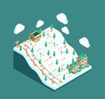 立体滑雪场