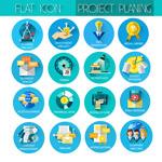 项目规划业务图标
