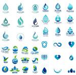 水滴形状标志