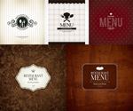 西餐厅菜谱封面