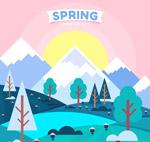 春季郊外风景