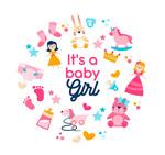 粉色女婴玩具