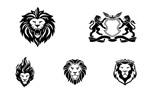 狮子造型标志3