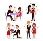 约会中的情侣