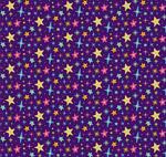 彩色星星无缝背景