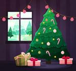 圣诞树矢量