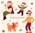 圣诞家庭人物