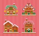 精致圣诞姜饼屋
