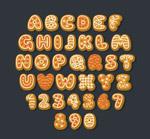 饼干字母和数字
