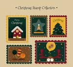 圣诞邮票设计