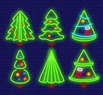 霓虹灯圣诞树