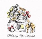 圣诞包裹矢量