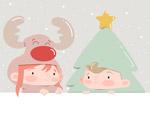 圣诞装扮儿童