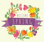 春季花环设计