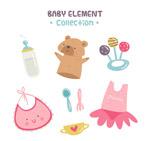 彩绘婴儿用品
