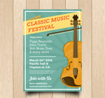 古典音乐节海报