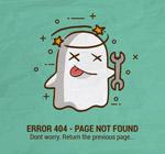 可爱404错误页
