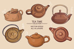 6款卡通茶壶