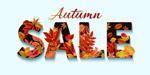 秋季销售艺术字