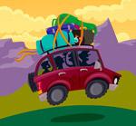 度假区自驾游车辆