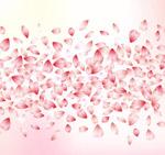 樱花花瓣无缝背景