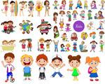 卡通风格儿童人物
