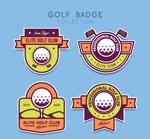高尔夫俱乐部徽章