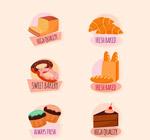 美味甜点标签