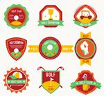 高尔夫俱乐部标签
