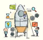 建造火箭的团队