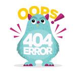 怪兽404错误页面