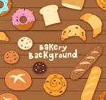 摆满桌子的面包