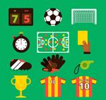 足球元素图标