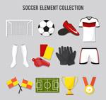 精致足球元素