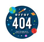 太空404错误页面