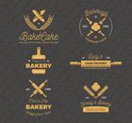 金色面包店标志