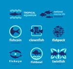 8款创意鱼标志