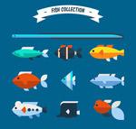 10款扁平化鱼类
