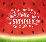 你好夏季西瓜