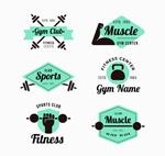 健身中心标志