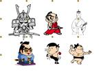 卡通日本武士