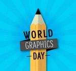 铅笔平面设计日