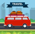 旅行度假面包车