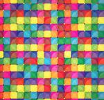 彩色方形拼格背景